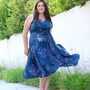 Rachel Roy Curvy front tie dress size 18w